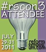 Small RSCON3 Attendee badge